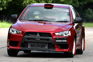 Mitsubishi Ukrainian Club - Lancer Evolution IX 2006 года -